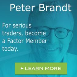 Peter Brandt - Factor 250