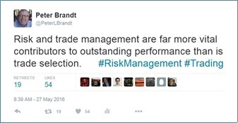 Always Consider Risk Management - Peter Brandt