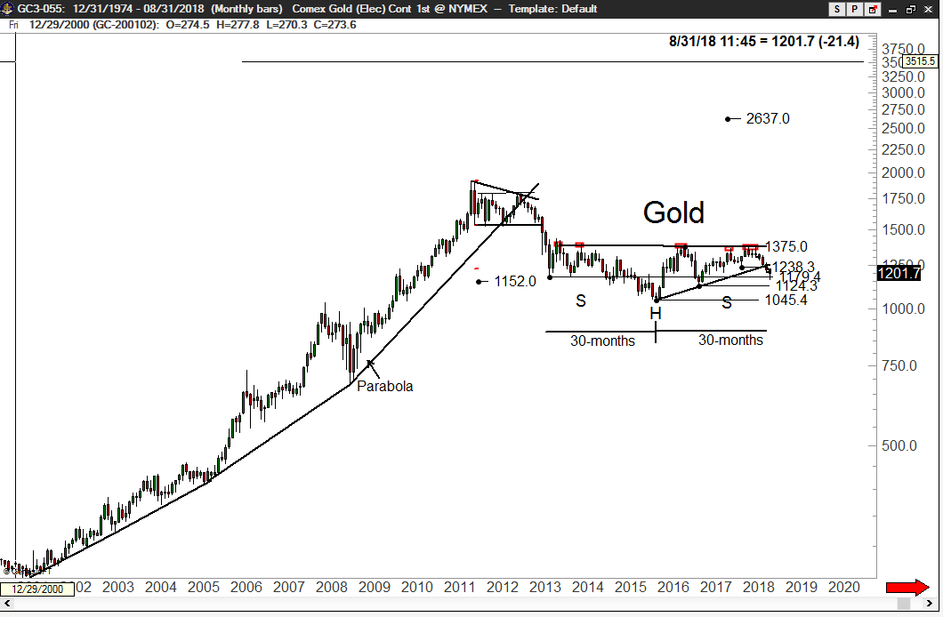 Gold possibility - Peter Brandt - Factor Trading
